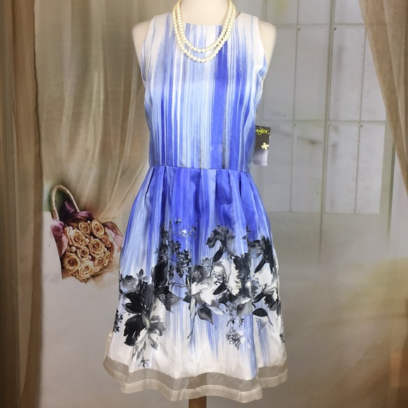 Taylor Dresses & Skirts - Taylor Periwinkle Sleeveless Party Dress